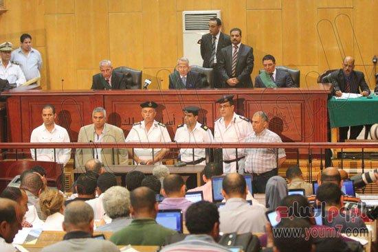 صورة نص منطوق الحكم على مبارك ونجليه فى قضية قصور الرئاسة