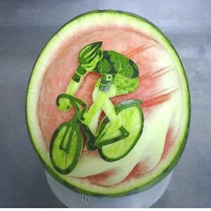 الرسم علي البطيخ , صور بطيخة جميلة