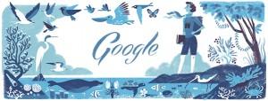 العالمة الامريكية راشيل كارسون التى يحتفل بها جوجل اليوم 27 ايار