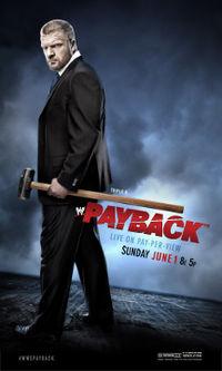 تغطية مهرجان المصارعة payback الاثنين 2 حزيران 2014 , اخبار عرض المصارعة باي باك 2014