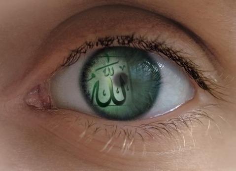 عين تحرس في سبيل الله , عين تدمع من خشية الله , عين تكف عن محارم الله , عين تتأمل في خلق الله