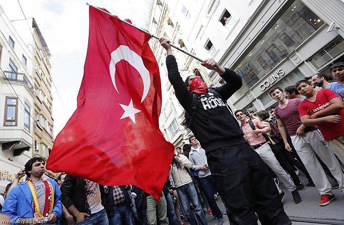أخبار تركيا اليوم الاثنين 9-6-2014 , قتيل وجرحى في اشتباكات بين متظاهرين وقوات الامن التركية