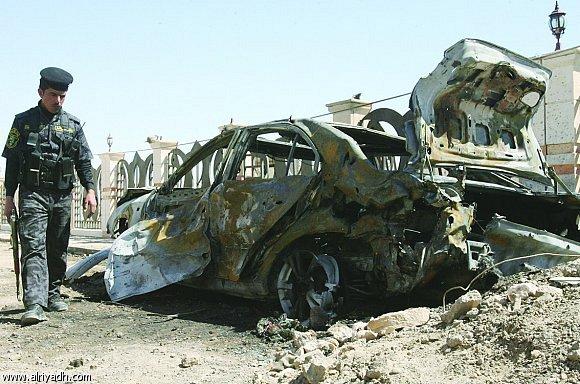 أخبار العراق اليوم الاثنين 9-6-2014 , مقتل ضابط في الجيش العراقي في انفجار جنوبي تكريت
