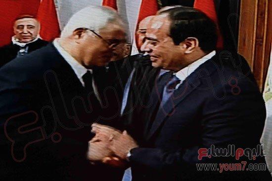 بالصور والفيديو لحظة السيسي اليمين رئيسا للمصر اليوم الاحد 8-6-2014