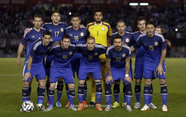 تشكيلة منتخب الأرجنتين في كأس العالم 2014