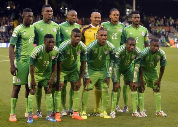 تشكيلة منتخب نيجيريا في كأس العالم 2014