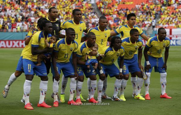 تشكيلة منتخب الأكوادور في كأس العالم 2014