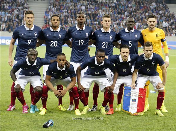 تشكيلة منتخب فرنسا في كأس العالم 2014