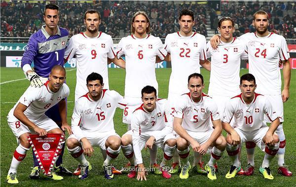 تشكيلة منتخب سويسرا في كأس العالم 2014