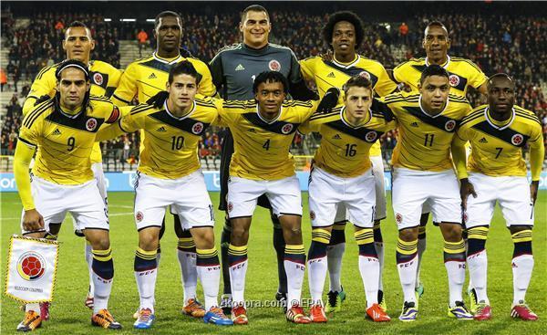 تشكيلة منتخب كولومبيا في كأس العالم 2014
