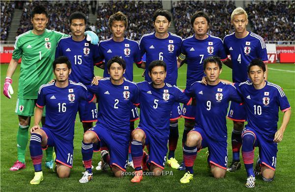 تشكيلة منتخب اليابان في كأس العالم 2014