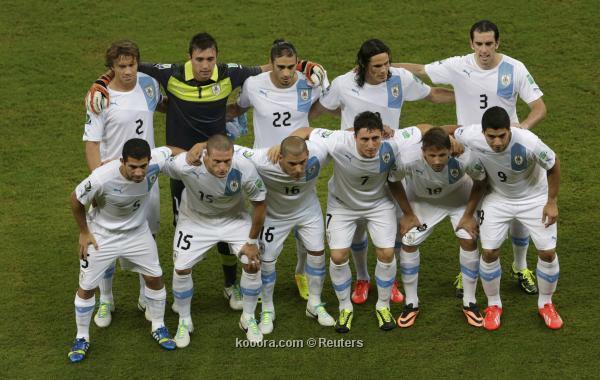 تشكيلة منتخب الاورجواي في كأس العالم 2014