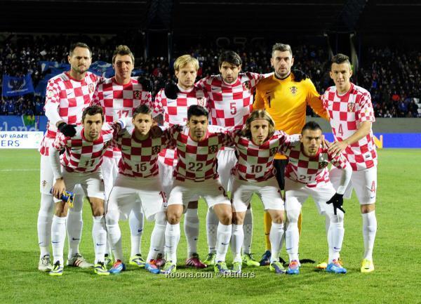 تشكيلة منتخب كرواتيا في كأس العالم 2014