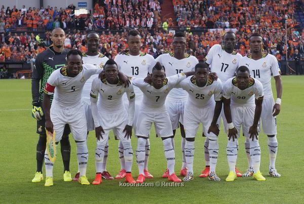 تشكيلة منتخب غانا في كأس العالم 2014