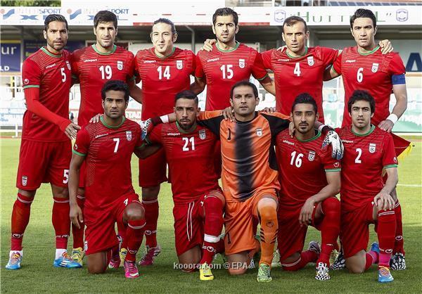 تشكيلة منتخب ايران في كأس العالم 2014