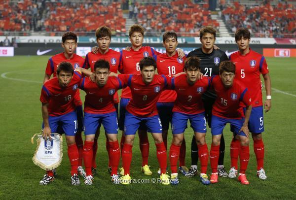 تشكيلة منتخب كوريا الجنوبية في كأس العالم 2014