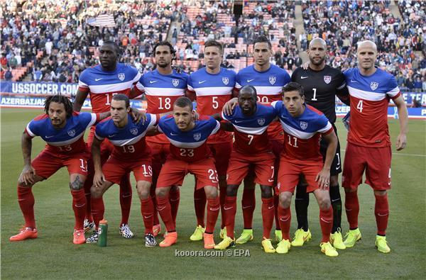 تشكيلة منتخب الولايات المتحدة في كأس العالم 2014