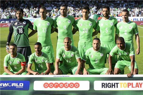 تشكيلة منتخب الجزائر في كأس العالم 2014