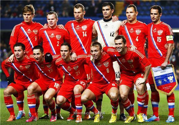 تشكيلة منتخب روسيا في كأس العالم 2014