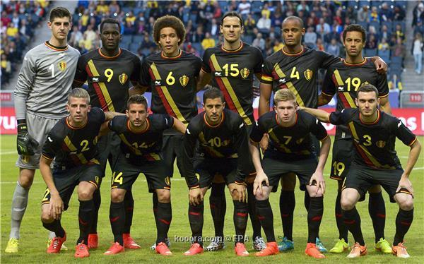 تشكيلة منتخب بلجيكا في كأس العالم 2014
