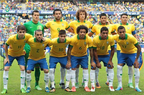 تشكيلة منتخب البرازيل في كأس العالم 2014