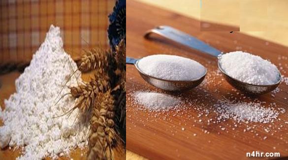 السموم الثلاثة البيضاء,مضار الإفراط في تناول الملح , دواعي التقليل من السكر , مضار الدقيق الأبيض