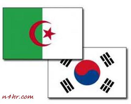 موعد مباراة الجزائر و كوريا الجنوبية اليوم الاحد 22 يونيو 2014