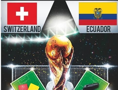 مشاهدة اهداف مباراة سويسرا والإكوادور الاحد 15-6-2014