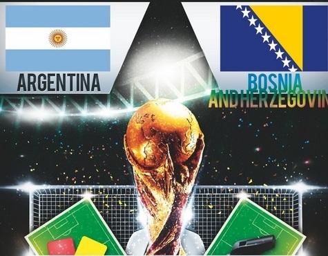 موعد مباراة الأرجنتين و البوسنة اليوم الاحد 15-6-2014 الساعة 1 مساء بتوقيت الاردن و مصر و السعودية