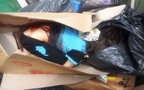 بالفيديو اغتصاب طفل لاجئ سوري وقتله بالسكين ورميه في مستوعب للنفايات
