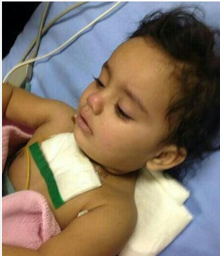 صور حادث الطفلة التي نحرها شقيقها في الرياض اليوم 1435