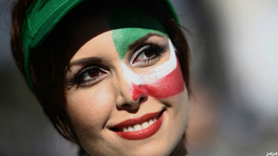 جميلات إيران , صور مزز ايران , صور مشجعات ايران 2018
