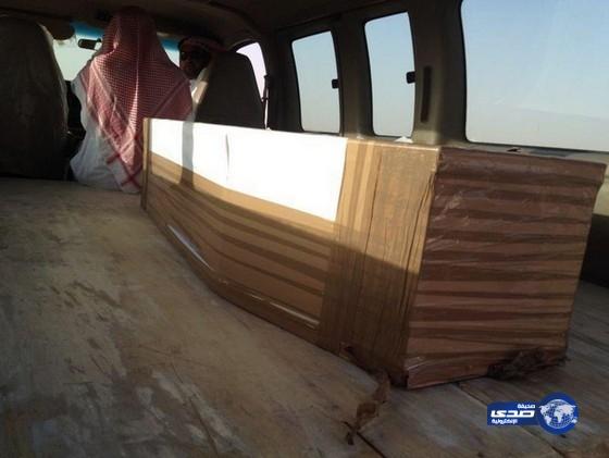 صور وصول جثمان المبتعثة القتيلة إلى الجوف ناهد ناصر المانع الزيد اليوم السبت 23-8-1435