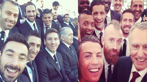 صور سيلفي selfie في كاس العالم 2014