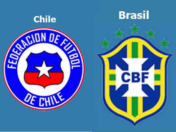 �� ����� ������ �������� ������ 28/6/2014 Brazil vs Chile