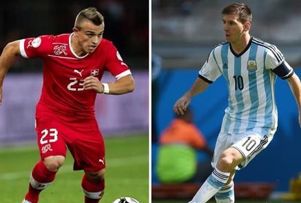 القنوات الناقلة مباشرة مباراة الأرجنتين وسويسرا اليوم الثلاثاء 1-7-2014