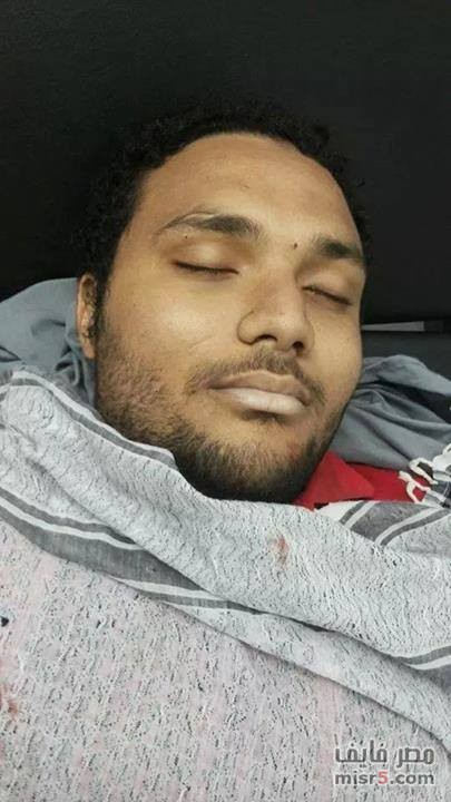 صور وفاة محمد بهاء في اشتباكات الهرم اليوم فى اول ذكرى عزل محمد مرسى