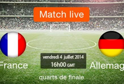 موعد مباراة فرنسا و المانيا اليوم الجمعة 4-7-2014 القنوات الناقلة للمباراة