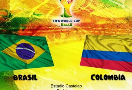 القنوات الناقلة لمباراة البرازيل وكولومبيا اليوم 4-7-2014