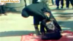 بالفيديو داعش تخنق امرأة حتى الموت