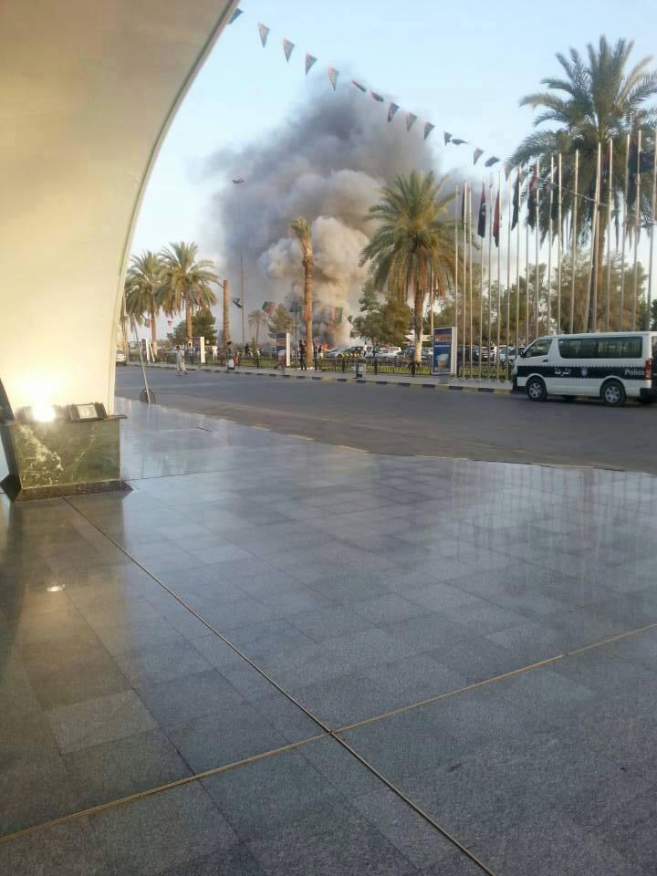 اخبار الاشتباكات مطار طرابلس اليوم 16 يوليو 2014