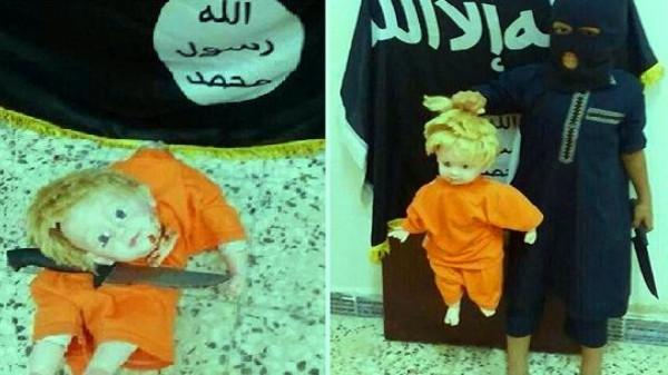 فيديو تعليم الأطفال ذبح وجز الرؤوس في داعش