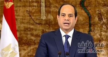 الرئيس عبد الفتاح السيسي غير راض عن نقل الباعة الجائلين ويدافع عنهم