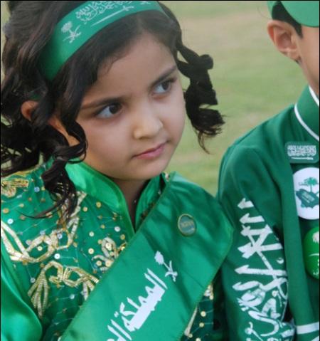 صور احتفالات البنات في اليوم الوطني السعودي 2016