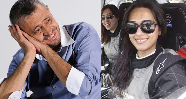 صور جورج وسوف وزوجته ندى زيدان 2014