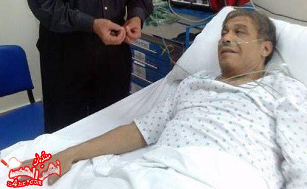 آخر صورة للممثل المصري خالد صالح قبل وفاته في المستشفى