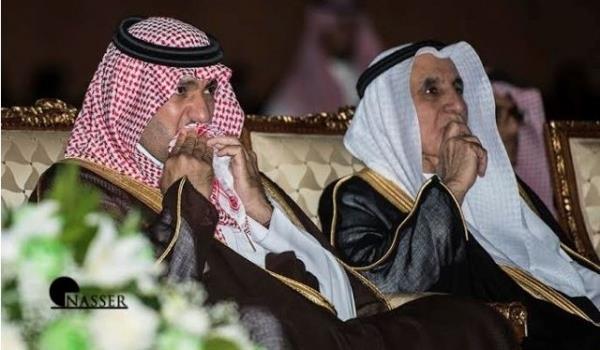 صور بكاء أمير الرياض في احتفال وزارة الإعلام باليوم الوطني