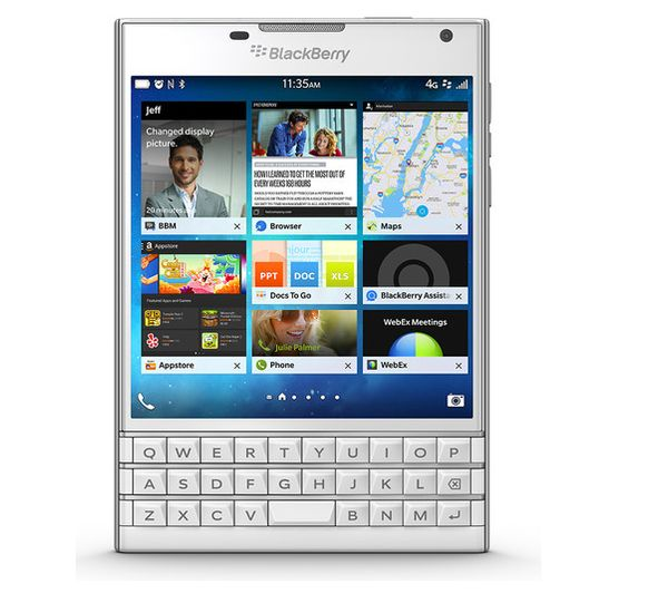 ��� ���� ���� ������� �� �������� BlackBerry Passport