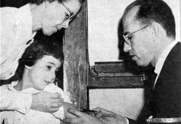 ������ �������� ����� ���� Jonas Salk ����� ���� ��� �������