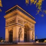 معلومات عن قوس النصر فى باريس